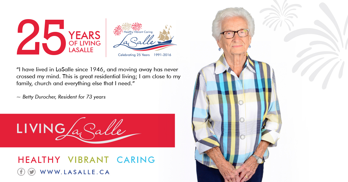 Living LaSalle Campaign - Betty Durocher