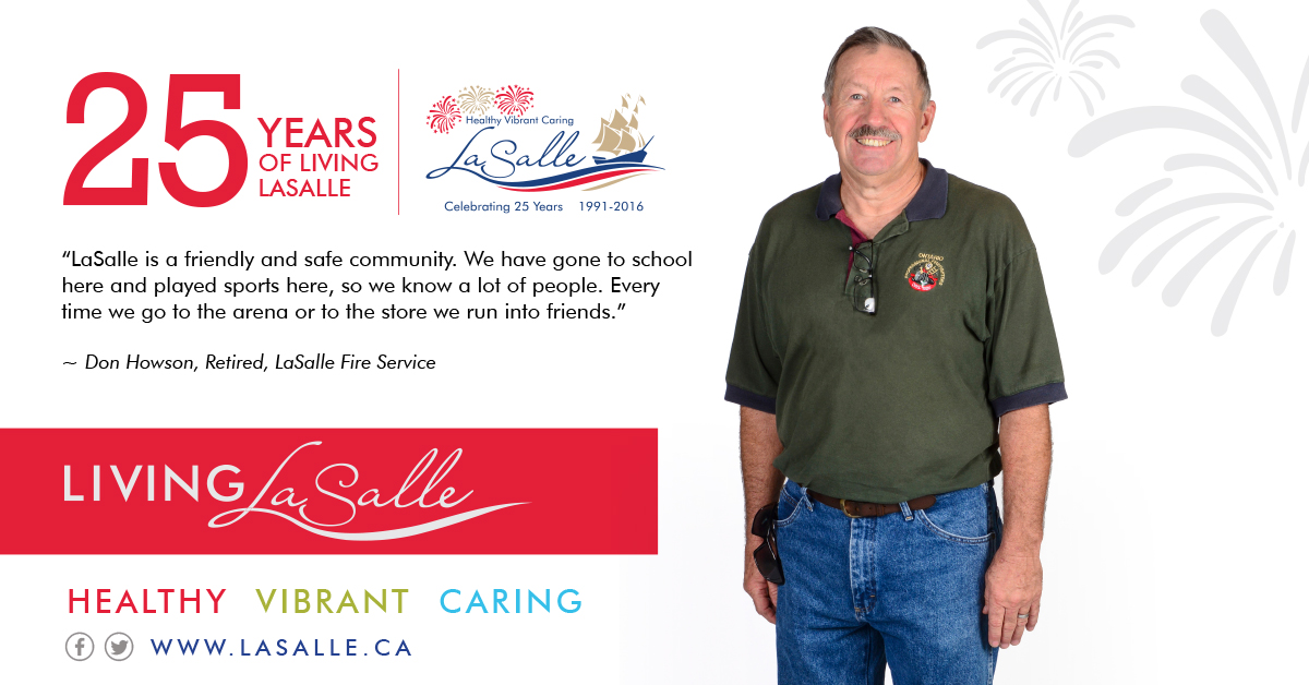 Living LaSalle Campaign - Don Howson