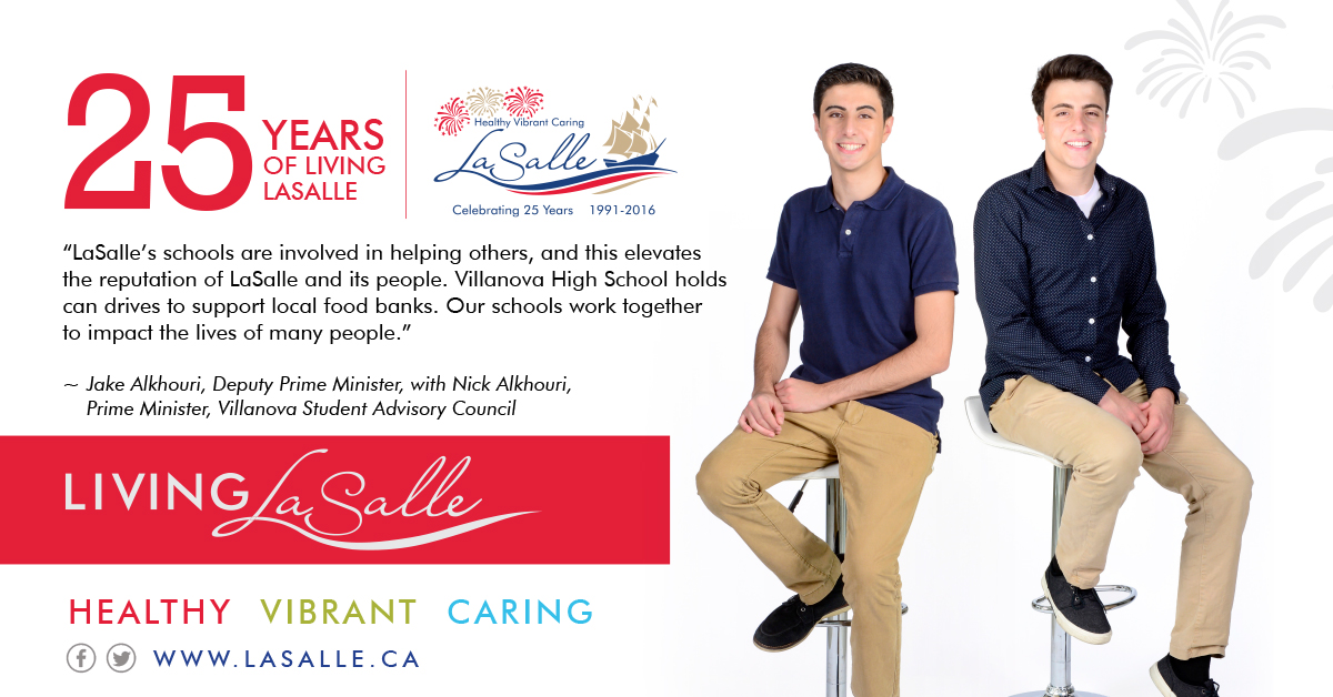 Living LaSalle Campaign - Nick & Jake Alkhouri