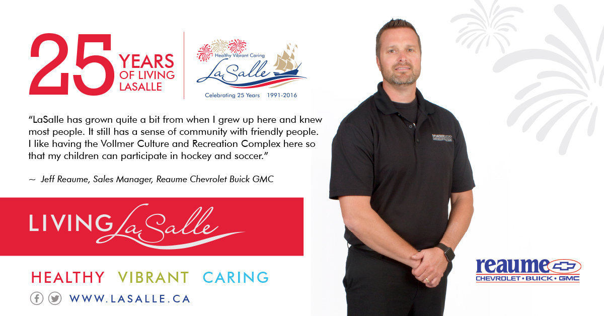 Living LaSalle Campaign - Jeff Reaume