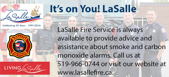 LaSalle Fire Service is always available to provide assistance about smoke and carbon monoxide, call us at 5199660744