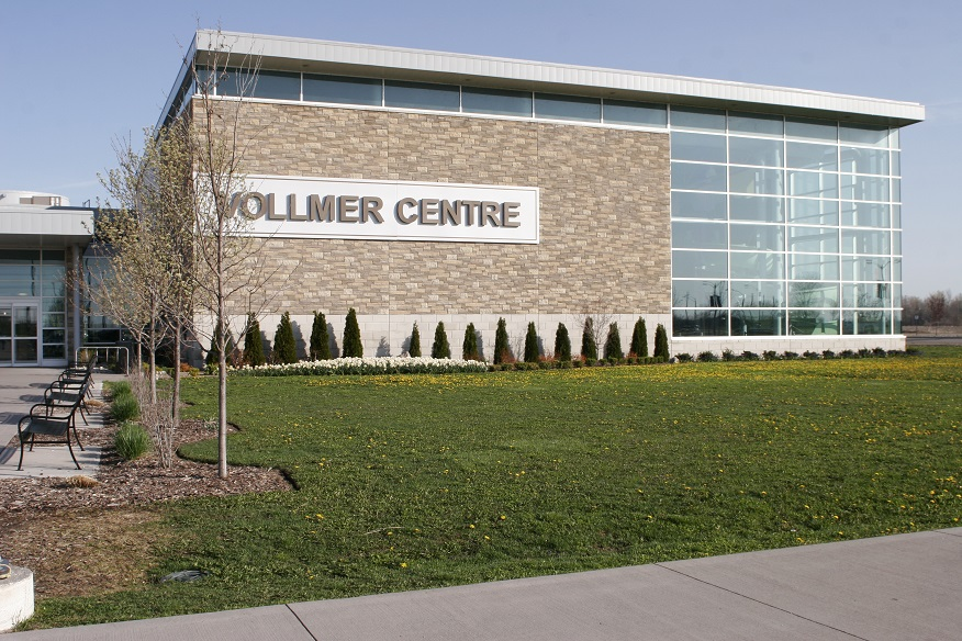 Front of the Vollmer Culture and Recreation Complex
