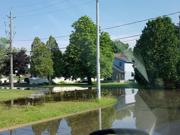 Flooding in LaSalle
