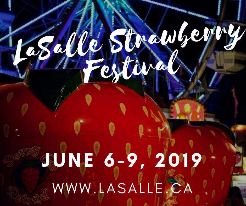 LaSalle Strawberry festival save the date