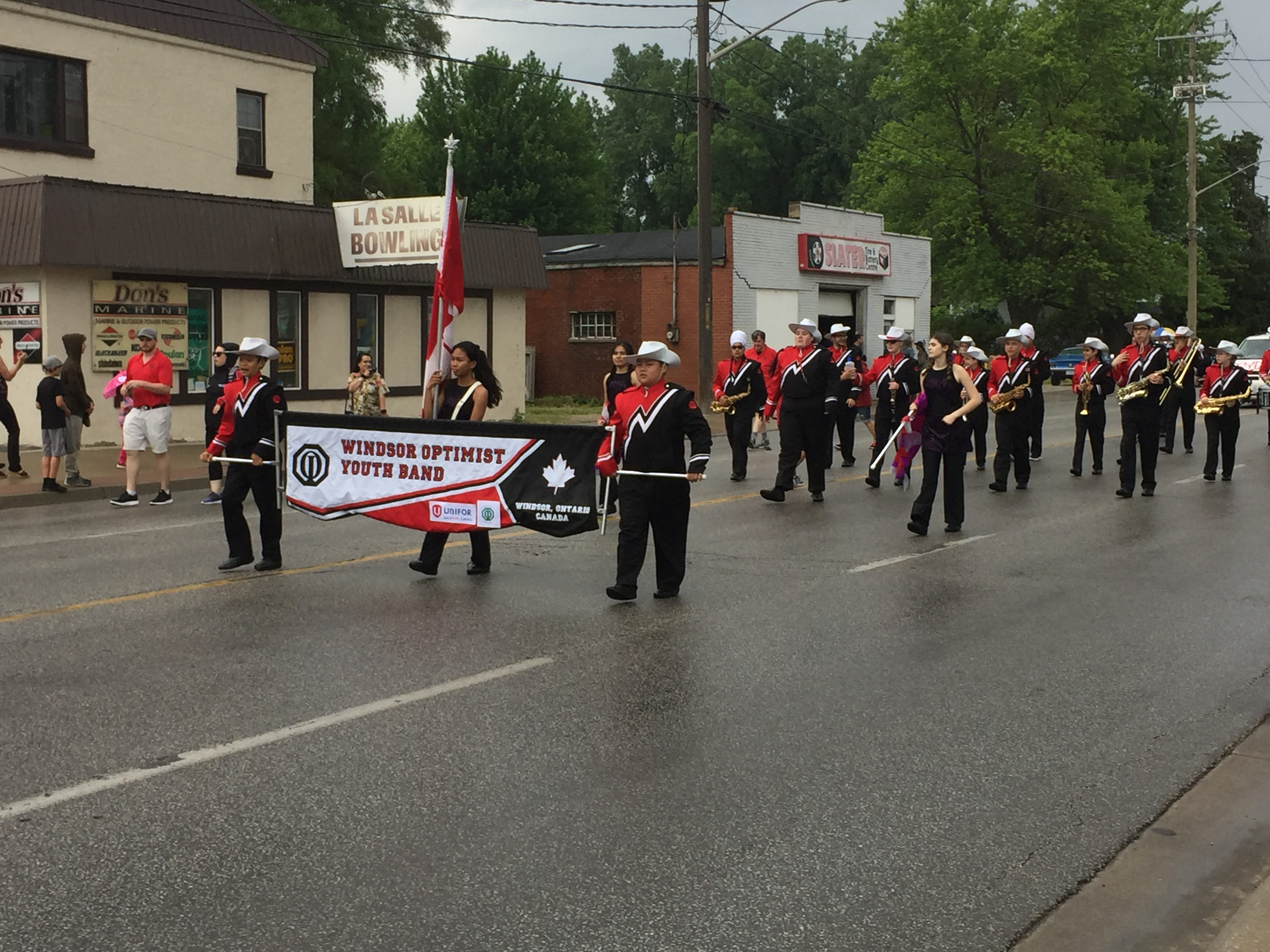 Parade at the LaSalle Strawberry Festival