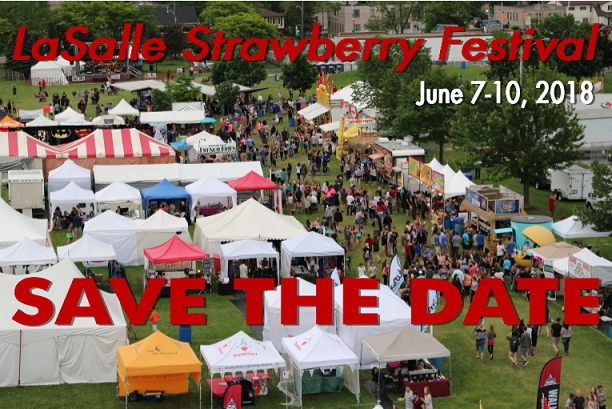 Strawberry Festival Save the Date picture