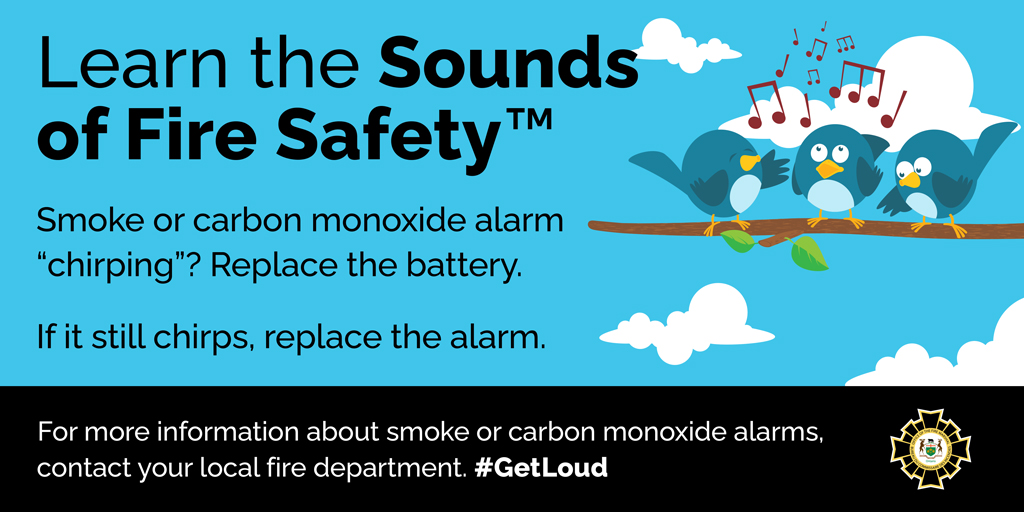 Fire Prevention Week Graphic