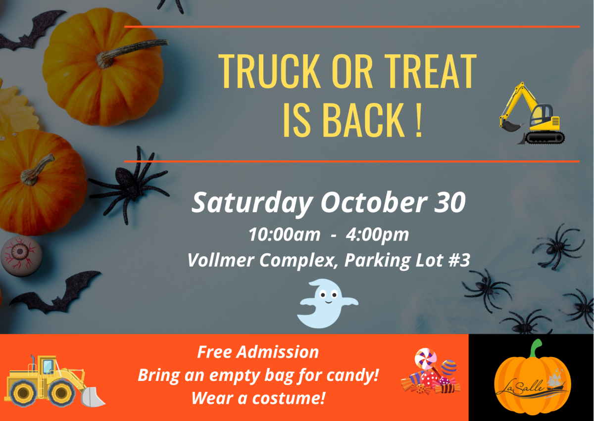 Truck or Treat Halloween Event Graphic