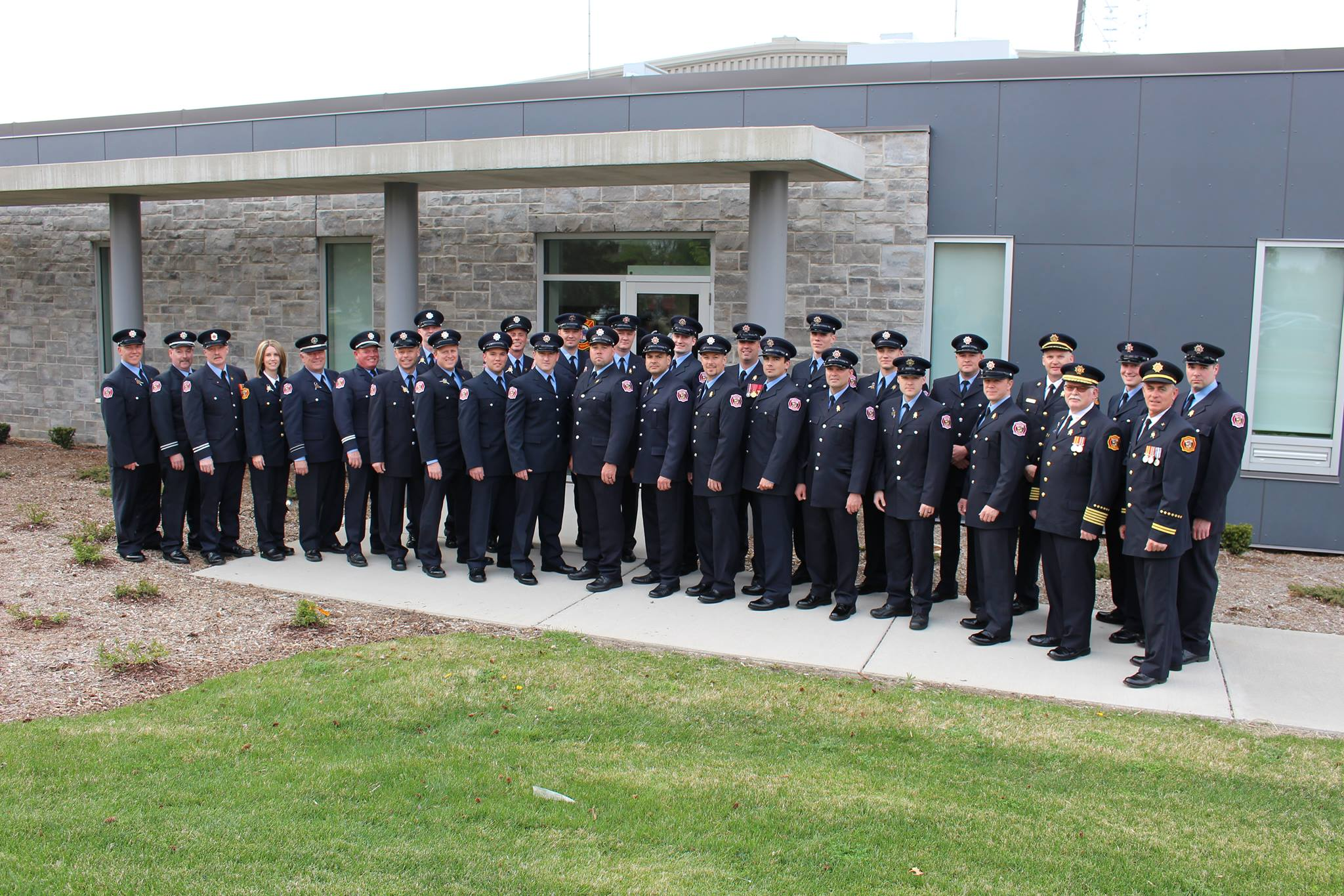 2016 LaSalle Fire Service Personnel group picture