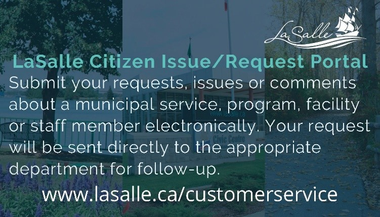 LaSalle Citizen Issue/Request Portal