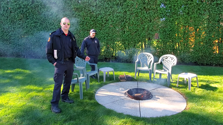 backyard fire safety